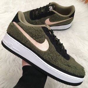 NEW Nike Air Force 1 Shrlng QS Women's Sneakers
